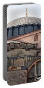 Hagia Sofia Close Up Portable Battery Charger