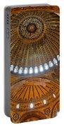 Hagia Sofia Interior 02 Portable Battery Charger
