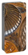 Hagia Sofia Interior 04 Portable Battery Charger