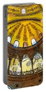 Hagia Sofia Interior 07 Portable Battery Charger