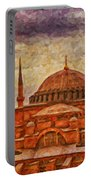 Hagia Sophia Digital Painting Portable Battery Charger