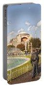 Hagia Sophia Editorial Portable Battery Charger by Antony McAulay