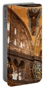 Hagia Sophia Interior 07 Portable Battery Charger