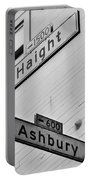 Haight And Ashbury Portable Battery Charger