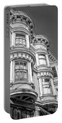 Haight Street Windows Bw Portable Battery Charger