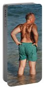 Hairy Ocean Portable Battery Charger
