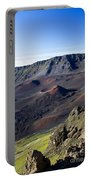 Haleakala Sunrise On The Summit Maui Hawaii - Kalahaku Overlook Portable Battery Charger by Sharon Mau