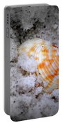 Half Buried Shell Portable Battery Charger