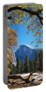 Half Dome In Yosemite Portable Battery Charger