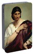 Half-length Portrait Of A Roman Woman Portable Battery Charger