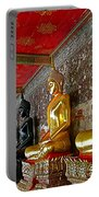 Hall Of Buddhas At Wat Suthat In Bangkok-thailand Portable Battery Charger
