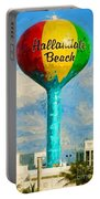 Hallandale Beach Water Tower Portable Battery Charger