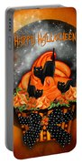 Halloween Black Cat Cupcake 1 Portable Battery Charger