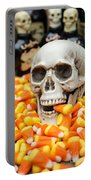 Halloween Candy Corn Portable Battery Charger