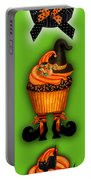 Halloween Cupcakes - Green Portable Battery Charger