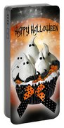 Halloween Ghost Cupcake 1 Portable Battery Charger