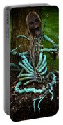 Halloween Green Skeleton Vinette Portable Battery Charger
