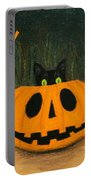 Halloween Kitty Boo Portable Battery Charger