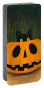 Halloween Kitty Portable Battery Charger