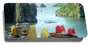 Halong Bay Sails 01 Portable Battery Charger