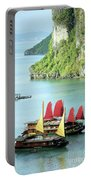 Halong Bay Sails 02 Portable Battery Charger