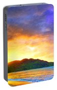 Hanalei Sunset Portable Battery Charger