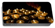 Hand Lighting Candles Portable Battery Charger