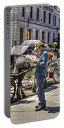 Handsome Hansom Driver  Portable Battery Charger