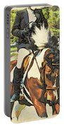 Hang On Tight To Your Painted Horse Portable Battery Charger