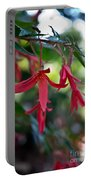 Hanging Asian Lillies Portable Battery Charger