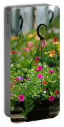 Hanging Flower Baskets Shallow Dof Portable Battery Charger