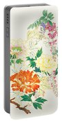 Hanging Flowers Portable Battery Charger
