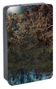 Hanging Garden In Moonlight Portable Battery Charger