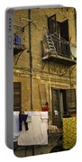 Hanging Out To Dry In Palermo  Portable Battery Charger
