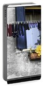 Hanging Out To Dry In Venice 2 Portable Battery Charger