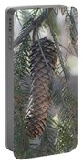 Hanging Pine Cone Portable Battery Charger