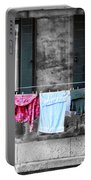 Hanging The Wash In Venice Italy Portable Battery Charger