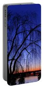 Hanging Tree Sunrise Portable Battery Charger