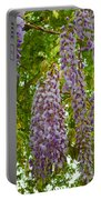 Hanging Wisteria Blossoms Portable Battery Charger