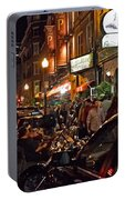 Hanover Street Nights - Boston Portable Battery Charger