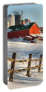 Happy Acres Farm Portable Battery Charger by Bill Wakeley