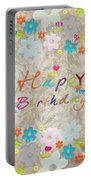 Happy Birthday 2 Portable Battery Charger