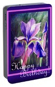 Happy Birthday Iris  Portable Battery Charger