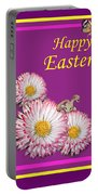 Happy Easter Hiding Bunny Portable Battery Charger