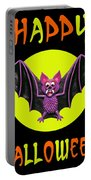 Happy Halloween Bat Portable Battery Charger