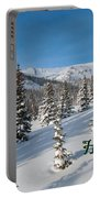 Happy Holidays - Winter Wonderland Portable Battery Charger