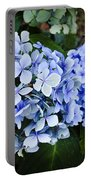 Happy Hydrangea Portable Battery Charger