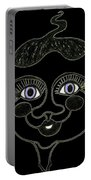 Happy Licorice Girl Portable Battery Charger