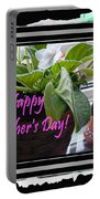 Happy Mother's Day I Love You Mom Portable Battery Charger