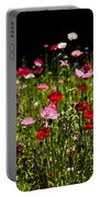 Happy Poppies Portable Battery Charger